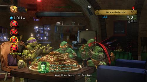 Teenage Mutants Ninja Turtles - Mutants in Manhattan